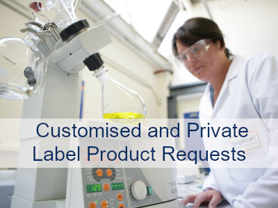 Customised & Private Label Product Requests