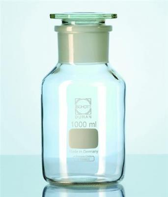 Wide-mouth reagent bottles with stopper